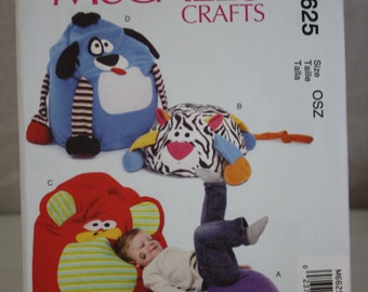 McCall's Crafts Pattern No. M6625 (OSZ) 2012 Uncut