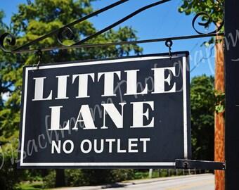 Little Street Sign
