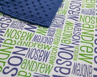 Personalized Custom Baby Blanket