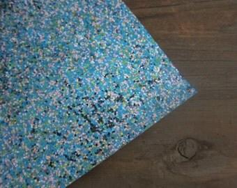 Glitter Material Carribean Mix 8X10 sheet