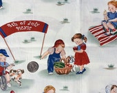 David Textiles - Fourth of July Picnic - Cotton Woven Fabric