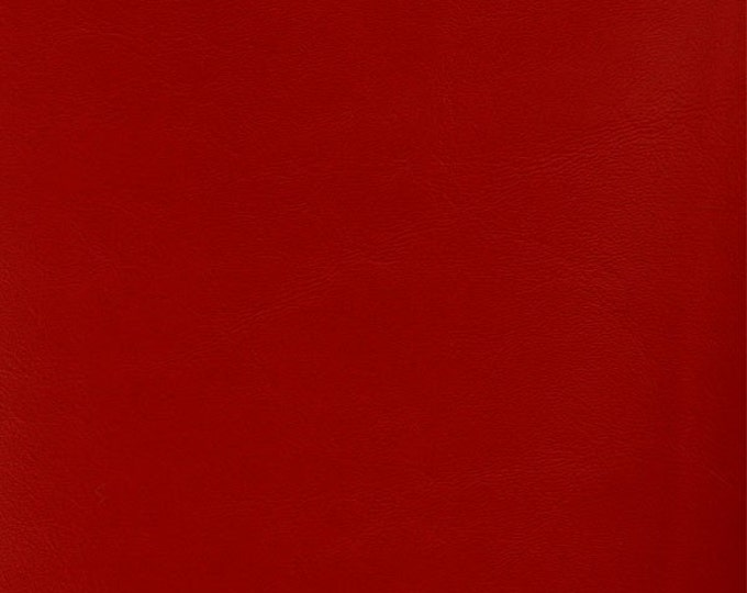 "54"" Marine Vinyl Fabric By The Yard - Regal Red - Crafts, Key Fobs, Purses/Bags, Upholstery, Boat Seats"