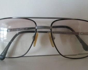 Aviator Wire Rim Eyeglasses Double Bar Pilot Style Teen or Women's Size