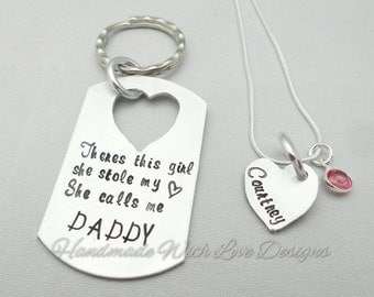 Father Daughter Ring Etsy