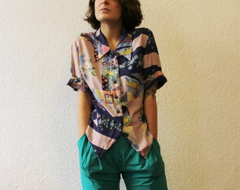 Patchwork Pastel Shirt