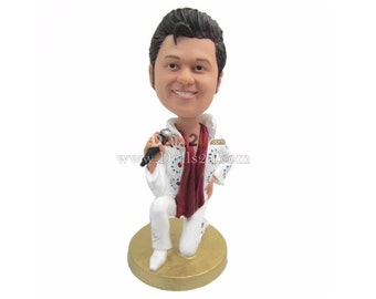 elvis wedding cake topper handmade elvis cake topper etsy 14010