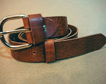 Handcrafted Leather Belt