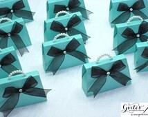 MINI Paper Box Purse, purse favor boxes, mini purse party favors, paper bag purse, paper purse party favor box. Handmade Couture Favor Box