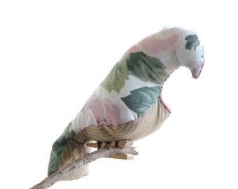 crib mobile/bird mobile/nursery mobile/bird mobiles hanging/bird mobile nursery/fabric bird mobile/baby girl/nursery decor/unique gift/pink