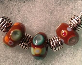 Murano Glass 'Romany' necklace by Destiny Pier