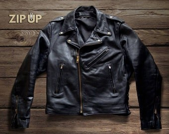 1960s Branded motorcycle jacket