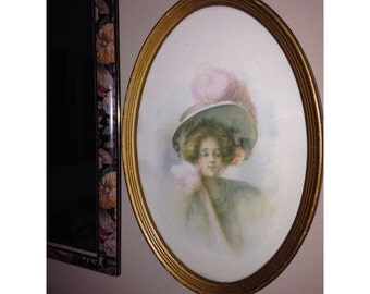 Vintage Beauty, Painting