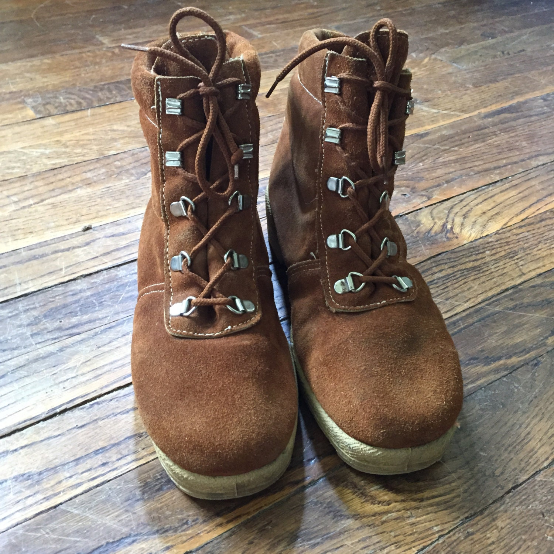 Soft Italian Leather Hiking Boots