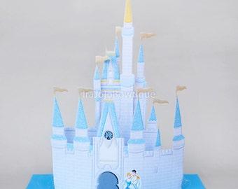 SALE!! 3D CASTLE Party Centerpiece