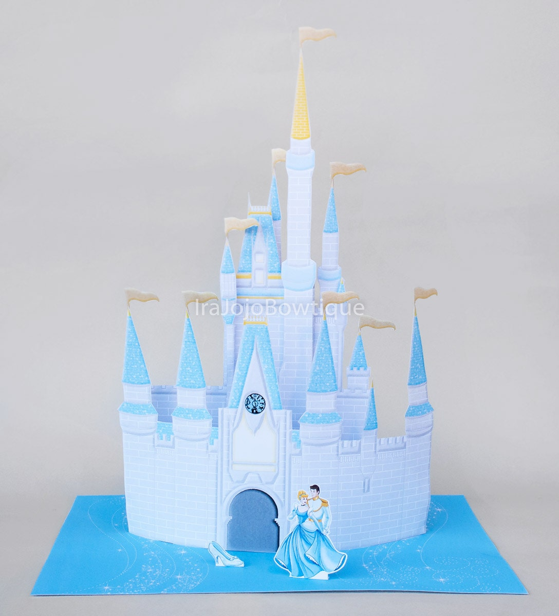 sale 3d castle party centerpiece