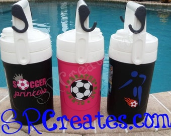 Water Coolers, Soccer Themed, Personalized and Customized! - Igloo 1/2 Gallon