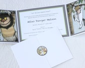Where The Wild Things Are Theme Invitations