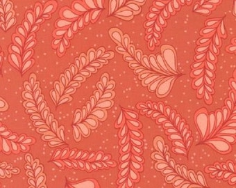 SALE!! 1/2 Yard - Blueprint Basics - Orange Spice - AVW-14542-322 - Valori Wells - Robert Kaufman Fabrics - Orange Fabric Yardage