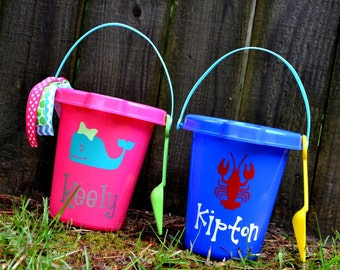 Personalized Beach Sand Pail