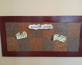 Items Similar To Wall Hooks Key Holder Bulletin Board