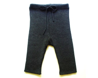 Men's knitted Merino wool shorts/boxers/underwear/homewear