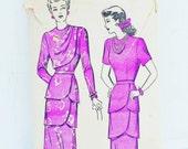 1940s Dress Pattern Advan...