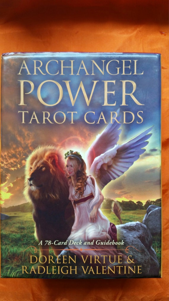 Archangel Power Tarot Cards By Doreen Virtue By