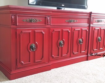 Media Console, Credenza, Console, Changing Table, Sideboard ....sold Example