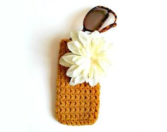 Sunglasses Case - Crochet Glasses Case - Spectacle Case - Vintage Style