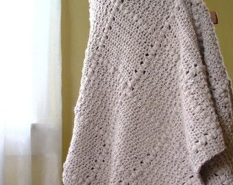 Crochet Pattern - Baby Blanket Pattern easy crochet pattern Baby Blanket Crochet Pattern Baby Afghan Blanket - Nursery Patch P125