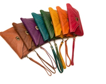 Moroccan Leather Wristlets