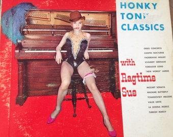 Honky Tonk Classics with Ragtime Sue - vinyl record