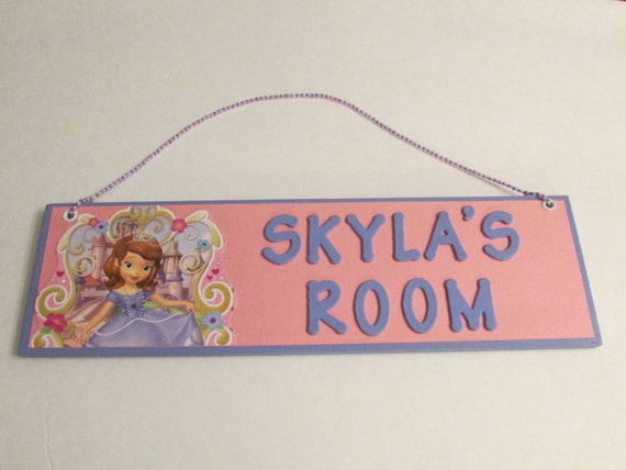 Princess Sofia The First Personalized Room Decor By