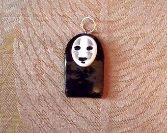 No Face-Spirited Away, Polymer Clay Charm