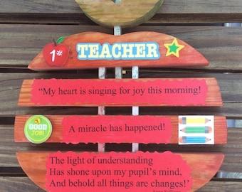 1# Teacher!