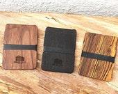 Slim Wood Wallet