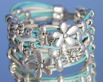 Summer Leather Bracelet