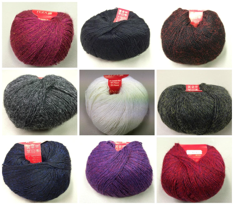 Luxury Yarn : FEZA NICO YARN Luxury Australian Merino Blend by WoollyWoolly