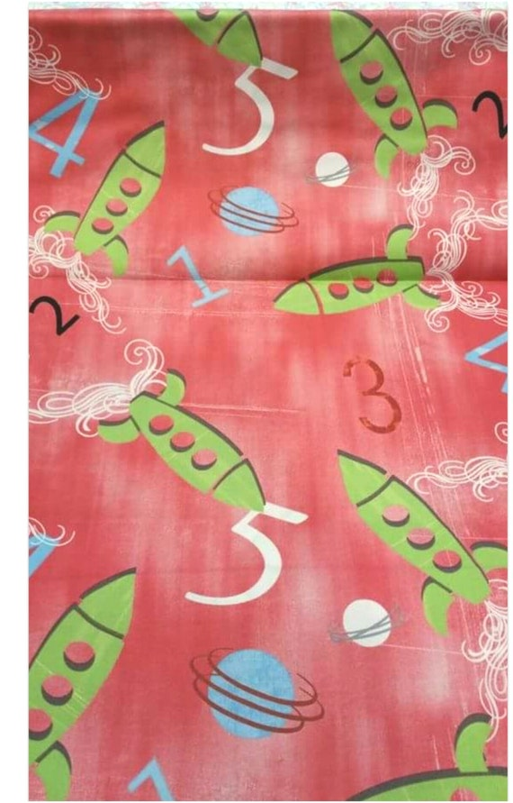 Rocket scientist fabric by countrymicecrafts on etsy for Rocket fabric
