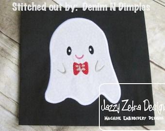 Boy Ghost 71 Applique Design