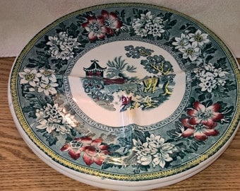 Set of Two John Steventon & Sons Sectional Plates