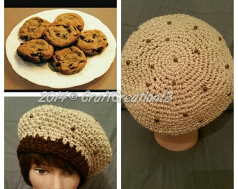 Chocolate Chip Cookie Beret