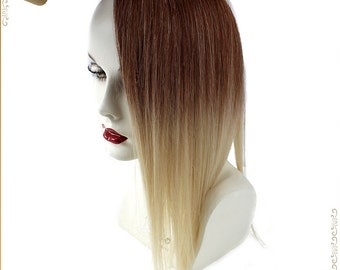 HALO-Secret -Miracle Magic wire OMBRE -dip dye 100% Human Hair extensions/ 18 inches/ 4T613