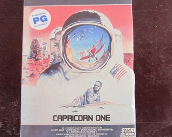 Capricorn One vintage vhs sci-fi/thriller movie