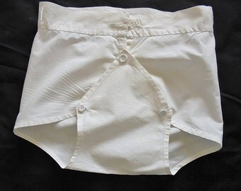 Vintage Handmade Baby Nappy or Diaper Cover - early 1900's
