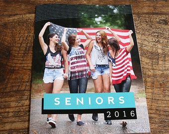 Senior Photography Welcome Guide Magazine: Customizable Template - Instant Download - Photography Studio Guide