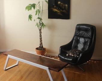 The TREK Coffee Table. Handmade in Portland, Oregon. USA