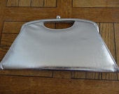 Vintage 1950s Handbag  Silver  Lovely!!