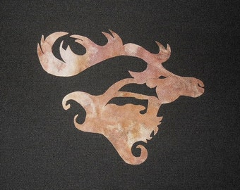 Elk Moose Applique Pattern Design (easy)