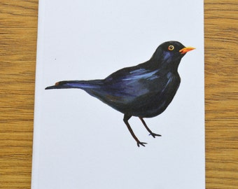 Blackbird Design A6 Notebook (Dimensions: 15cm x 10cm)